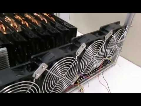 Biggest Bitcoin Mining Rig 2017