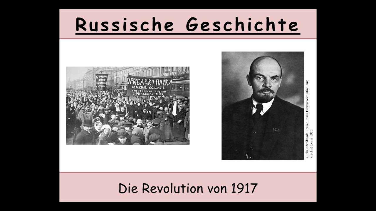die russische revolution 1917 februarrevolution oktoberrevolution teil 1 von 3 youtube. Black Bedroom Furniture Sets. Home Design Ideas