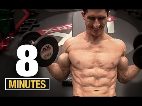 8 Minute Arm Workout (SHOCK YOUR ARMS!)