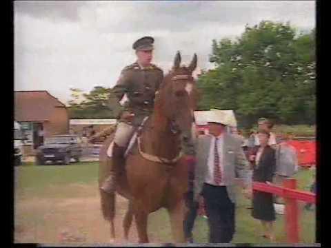 Capt.  John Ledingham (IRL) & Kilbaha (ISH) - win the 1994 Hickstead Derby jump-off