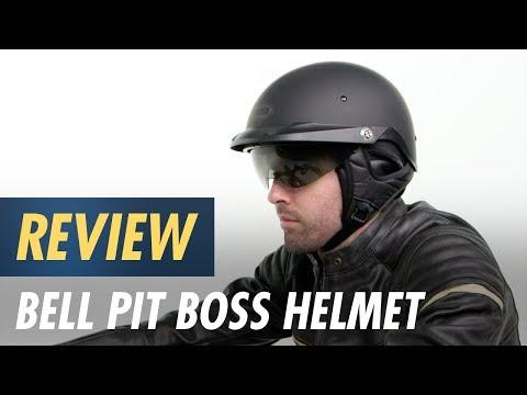 Bell Pit Boss Helmet - Solid