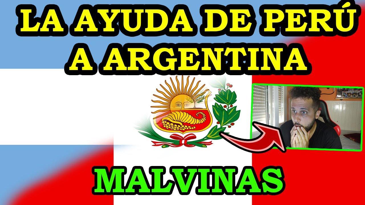 Español SE EMOCIONA con LA AYUDA de PERU a ARNGENTINA en MALVINAS *IMPRESIONANTE*