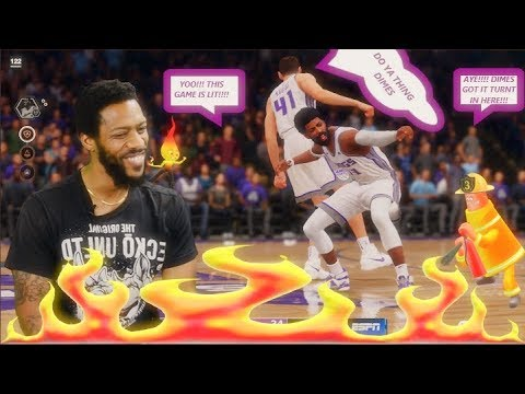 Dimes Goes DUMB on The Grizzlies in SACTOWN!!!! NBA LIVE 19 EP. 05 DIMES MCGEE