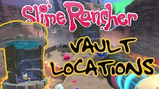 Slime Rancher - All 3 Vault Locations [Gold Loot]