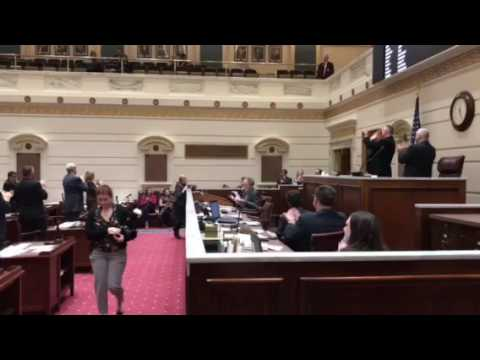 Oklahoma Senate: Pro Tem Schulz Addresses Senate
