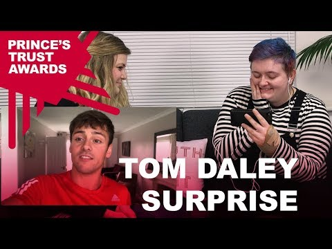 Tom Daley has a surprise for our winner Jay Kelly