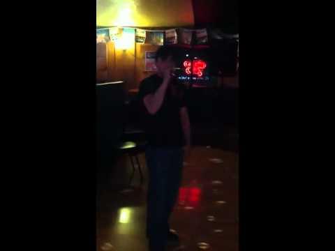 Yukon Jack's karaoke David singing let me love you