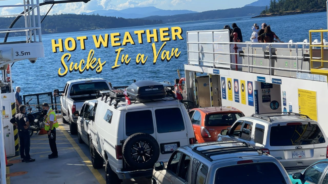 """Not a Fan Of This Heat """"Staying Cool"""" Shipping Auto Parts. Double Ferry Trip 