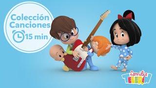 Familia Telerín. Colección Canciones Infantiles para Niños (15 minutos).