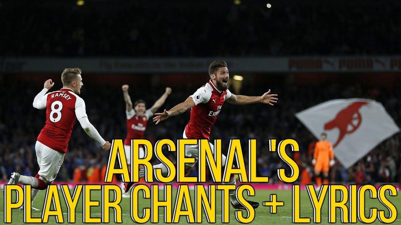 Arsenal FanChants, Arsenal Fans Songs & Gooners Football ...
