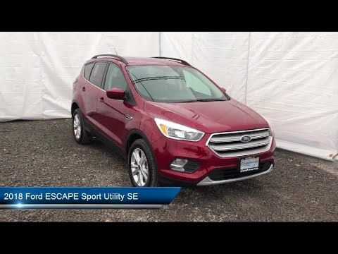 2018 Ford ESCAPE Sport Utility SE Carthage Watertown Gouverneur Syracuse Utica
