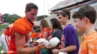 Clemson Football || Clements Kindness Group Visits Practice