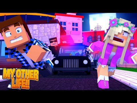 Donny & Leah are FUGITIVES on the run for MURDER!! Minecraft My Other Life