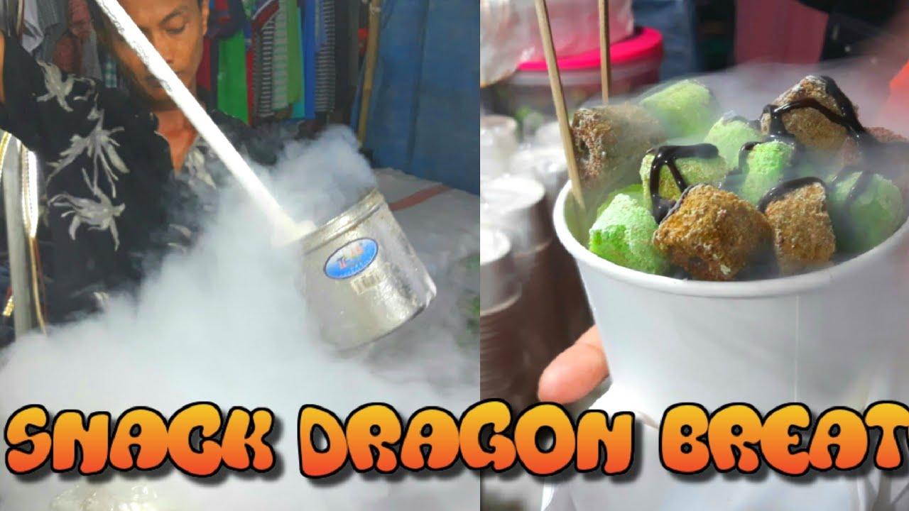 Bisa Keluar Asap Dingin Kalau Makan Ini Dragon Breath Youtube