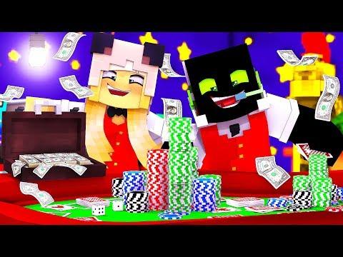 JACKPOT!! WIR ARBEITEN im CASINO! - Minecraft [Deutsch/HD]