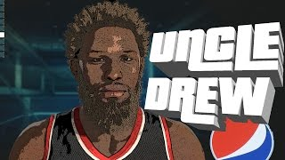 NBA 2K15 Uncle Drew on Park!!
