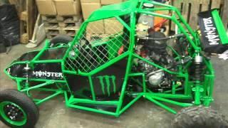 Costruzione Buggy Kart cross CBR 600 Prototipo Monster