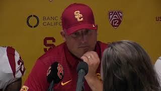 USC Football Post Game Presser - Cal