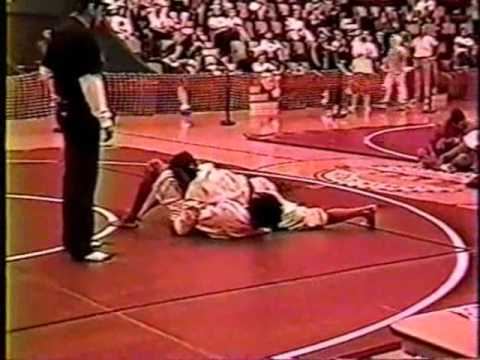 Eddie Bravo's first twister in a competition