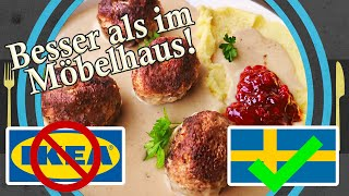 original KÖTTBULLAR recipe, make Köttbullar at home