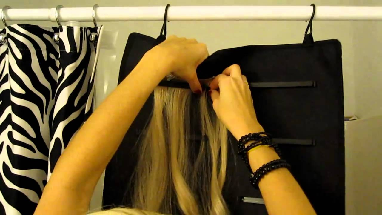 Storing Hair Extensions Youtube