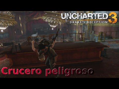 Uncharted 3 La traicion de Drake Aplastante Cap 14 Crucero peligroso