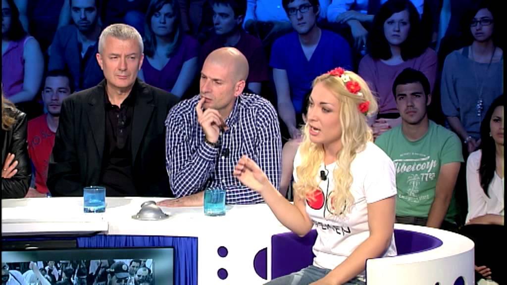 On n 39 est pas couch inna shevchenko sur les deux femen fran aises condamn es en tunisie youtube - Regarder on est pas couche en direct ...