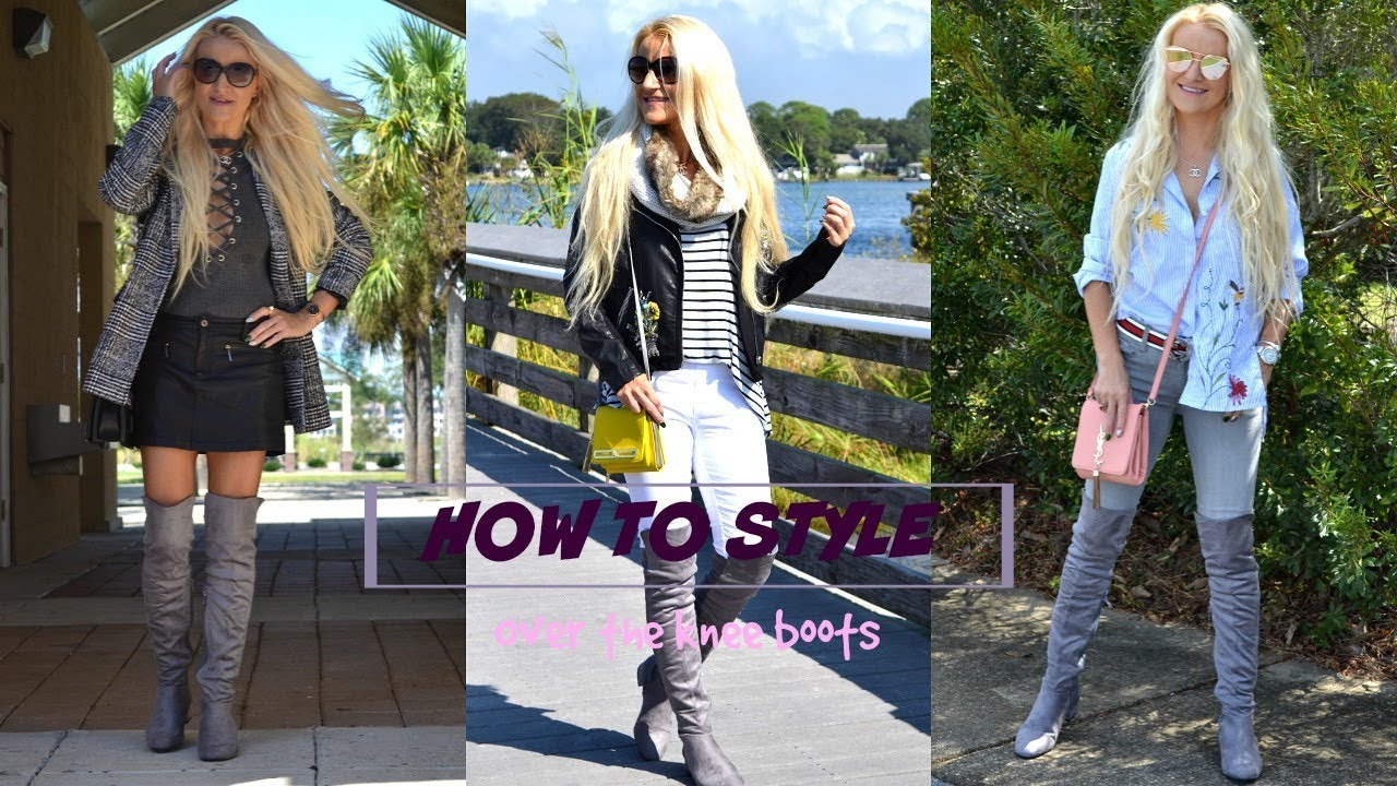 Styling Over The Knee Boots | Fall Lookbook | 5