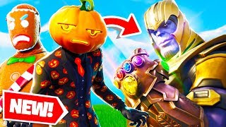 Lazarbeam & AlexAce Become THANOS In FORTNITE!