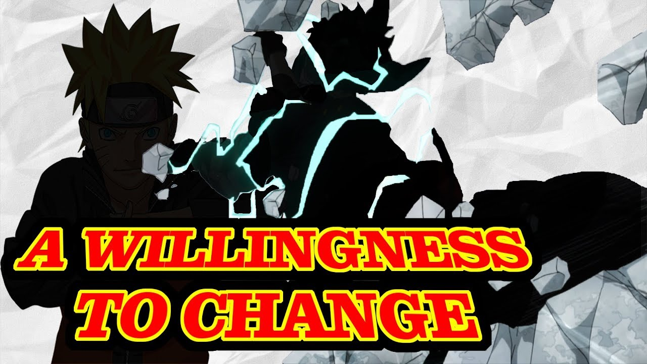 The Willingness to Change: My Hero Academia VS Naruto