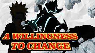 The Willingness to Change: My Hero Academia VS Naruto