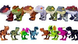 아기 공룡들을 만들어 보자. 쥬라기월드 공룡 스냅스쿼드…