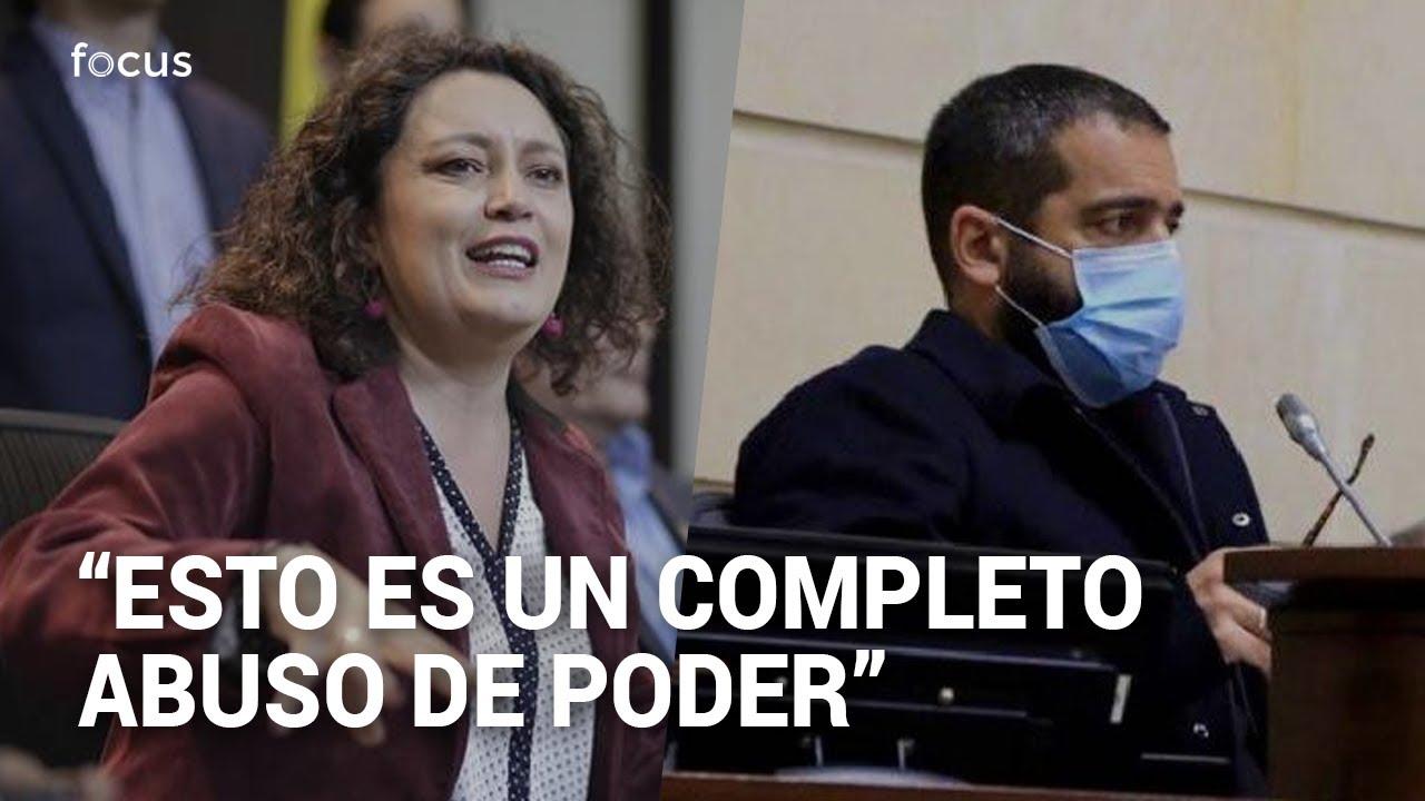 Angélica Lozano encara a Arturo Char por no dar tramite a proyecto de especialidad agraria