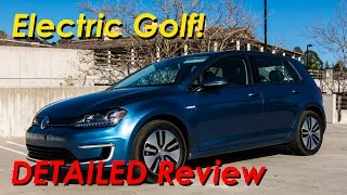 2015 Volkswagen e-Golf EV Detailed Review and Road Test   In 4K!