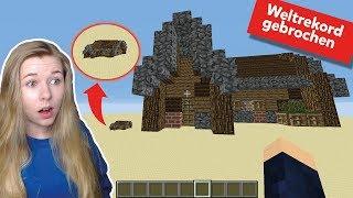 Das größte Minecraft-Haus der Welt! (Weltrekord) 11.707.368 Blöcke