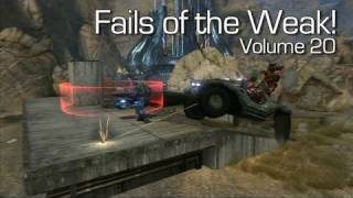 Halo: Reach - Fails of the Weak Volume 20 (Funny Halo Bloopers and Screw-Ups!)