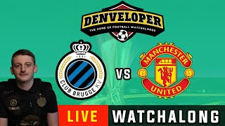 CLUB BRUGGE vs MANCHESTER UNITED - Live Football Watchalong Reaction - Europa League 19/20