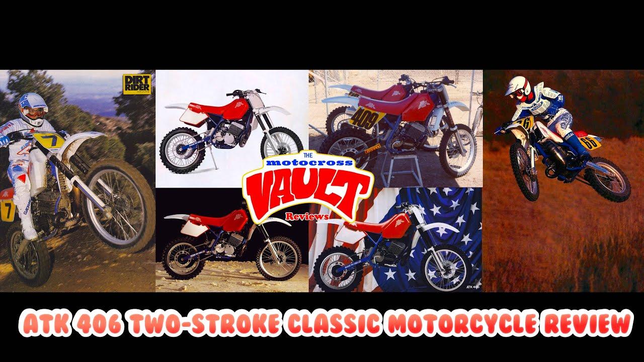 1988/1989 ATK 406 Classic Motocross Review