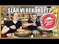 Kan vi slå Sverige-rekordet på Pizza Hut?