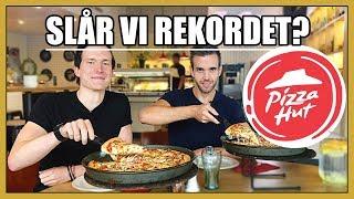 TJOHO! Nu är det så här va! Att Pizza Hut har ett officiellt rekord...
