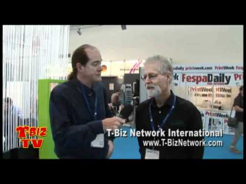 T-BizTV Mike Fresener Interview with Jeff Proctor at FESPA2010 in Munich
