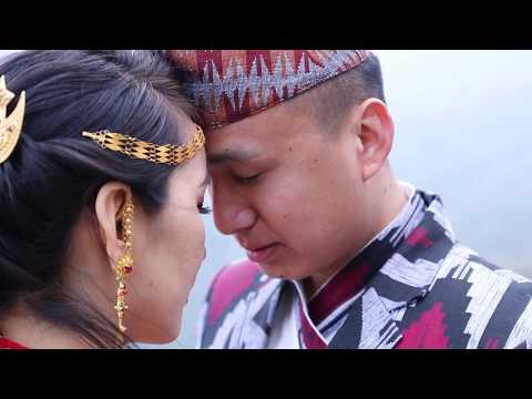 Bikram weds Dechen Wedding Highlights