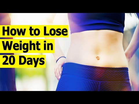 How to Lose Weight in 20 Days | 5 simple ways to lose weight | How to Lose Weight Fast