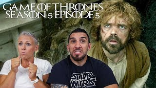 Game of Thrones Season 5 Episode 5 'Kill the Boy' REACTION!!
