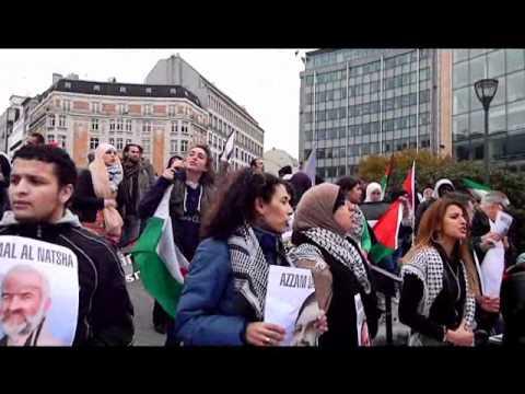 فيديو مسيرة التضامن مع النواب المختطفين اما مقر البرلم
