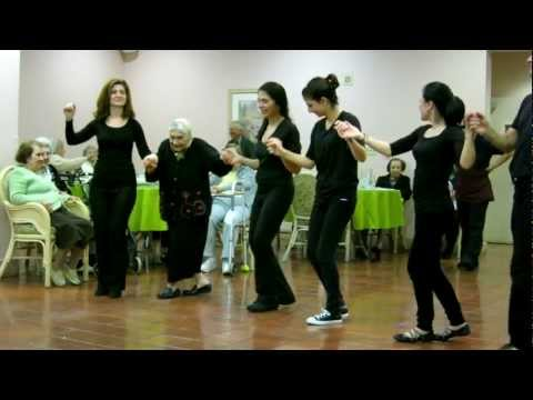 Astvadzadznapar Armenian Folk Dance By Gagik Ginosyan Students