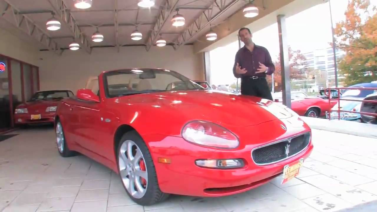 2004 maserati spyder cambio corsa for sale with test drive driving sounds and walk through video