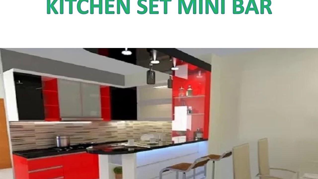 Elegan 0813 3002 0778 Kitchen Set Aluminium Coklat Youtube