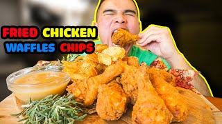 How to make FRIED CHICKEN & WAFFLES CHIPS
