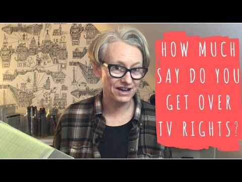 How Much Control do Authors Get Over TV and Film Rights?